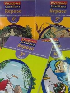 Libros vacaciones