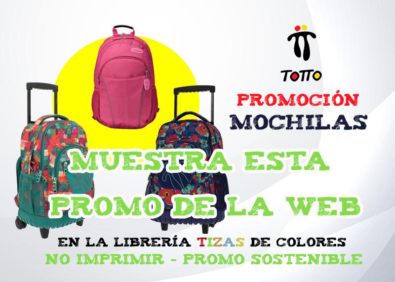 Promo Mochilas Totto 2020
